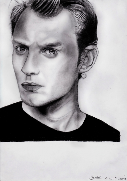 Jude Law por AllieH